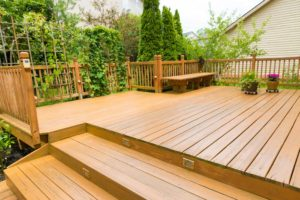 Beautiful residential deck - Home Deck Builders in Augusta